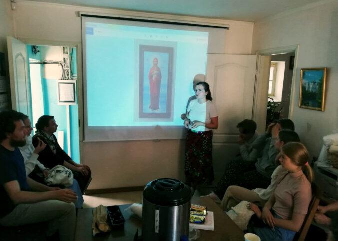 Встреча с иконописцем Анной Свиридецкой